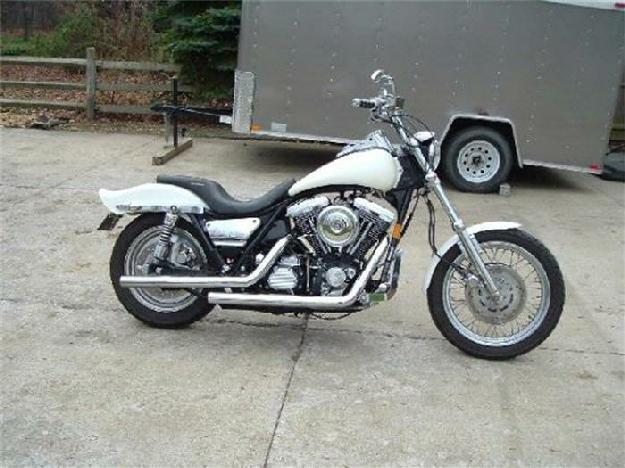 1992 Harley Davidson Motorcycle