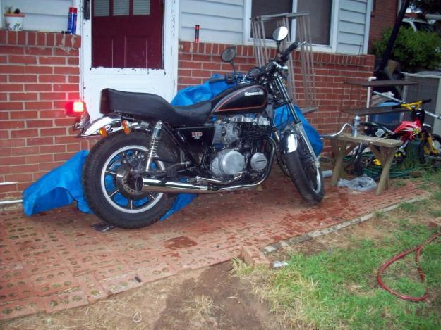1982 kawasaki 750cc LTD