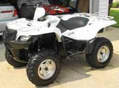2009 Suzuki King Quad 500 Axi Powersport in Chesapeake, VA