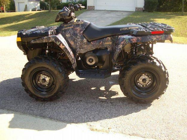 2006 Polaris Sportsman 700 efi atv Camo AWD