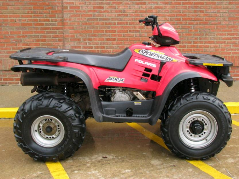 2002 polaris sportsman 400 red 4x4