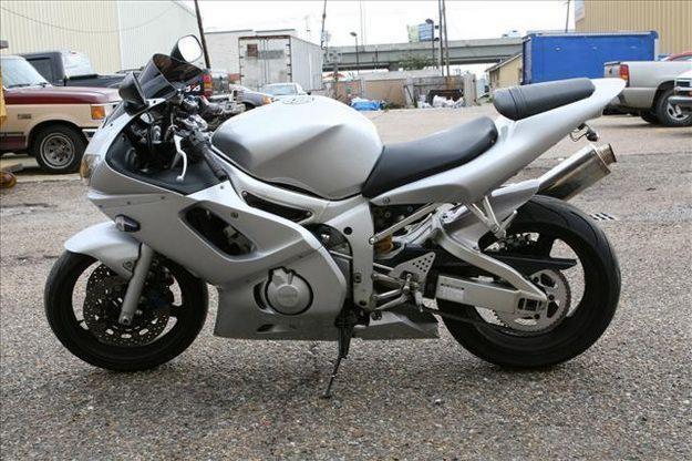 2002 YAMAHA R-6S 600 CC