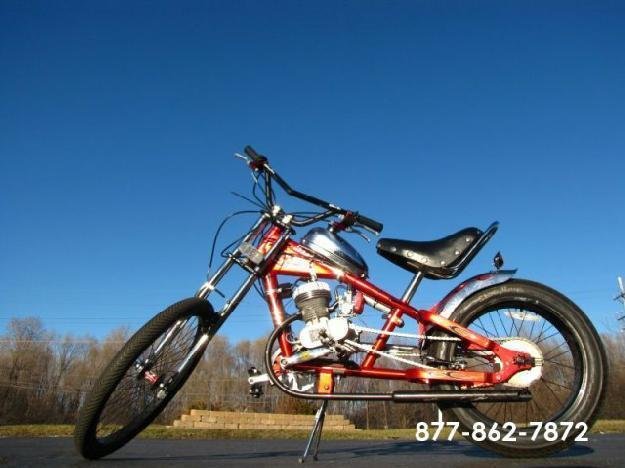 2006 Schwinn Stingray OCC Orange County Chopper Motorized Custom Chopper 80cc 2-Stroke Race Engine