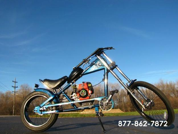 2006 Schwinn Stingray XL OCC Orange County Chopper Motorized Custom Chopper 49cc 4-Stroke Engine