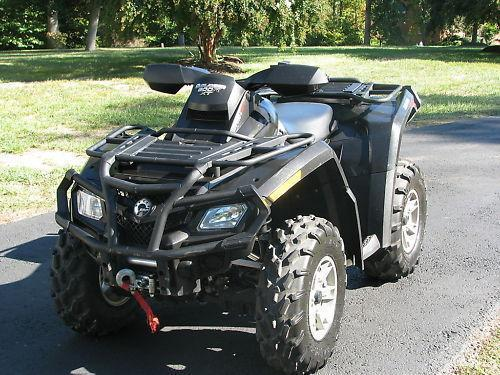 2009 Can-Am Outlander 800 R-XT