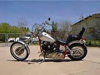 Old school  Harley chopper