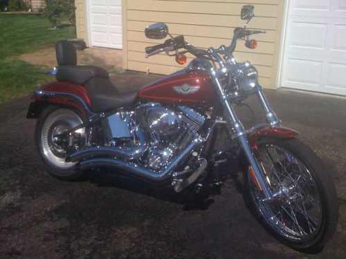 2003 Harley Davidson FXSTD Softail Deuce in College Place, WA