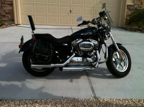 2012 Harley-Davidson Sportster Custom Xlh1200c