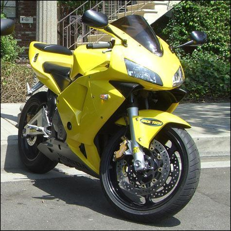 2003 600RR Yellow - Super Low Miles
