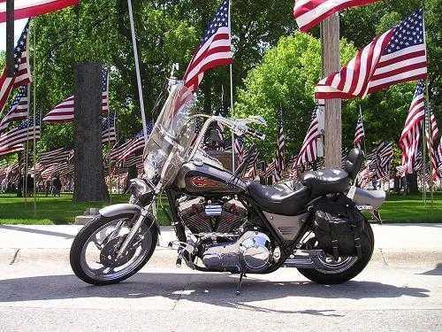 1987 Harley Davidson FXLR Custom Low Rider in Columbus, NE