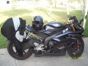 2007 Yamaha R600 Sportbike in Corpus Christi, TX