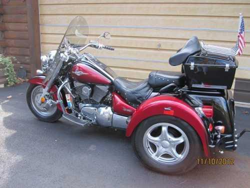 2007 Suzuki Boulevard C90 Lehman Jackal Trike Sportbike in Covington, VA