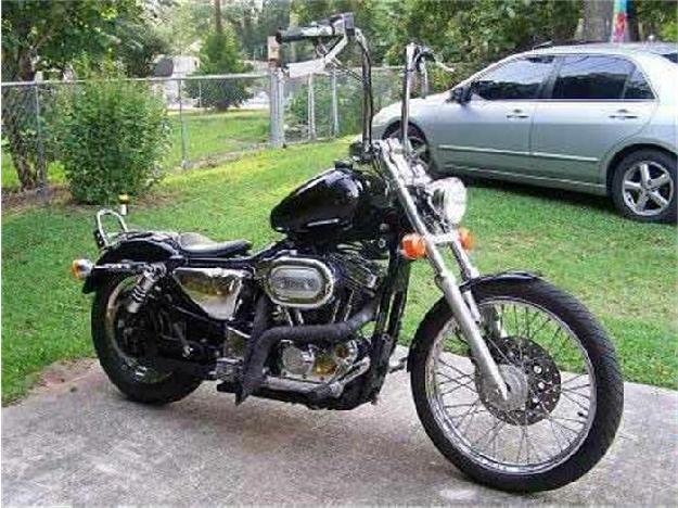 1999 Harley Davidson Motorcycle