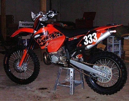 2007 KTM 250 XCW MOTORCYCLE $5000.00