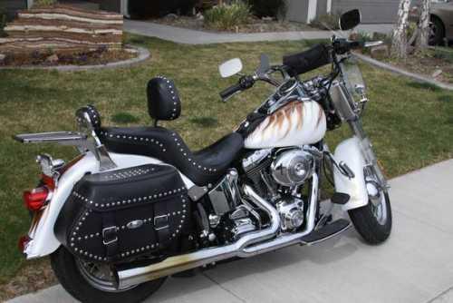 2002 Harley Davidson FLSTCI Heritage Softail in Dayton, NV