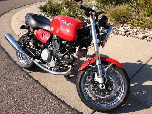 2007 Ducati Sport Classic GT1000 @ Red