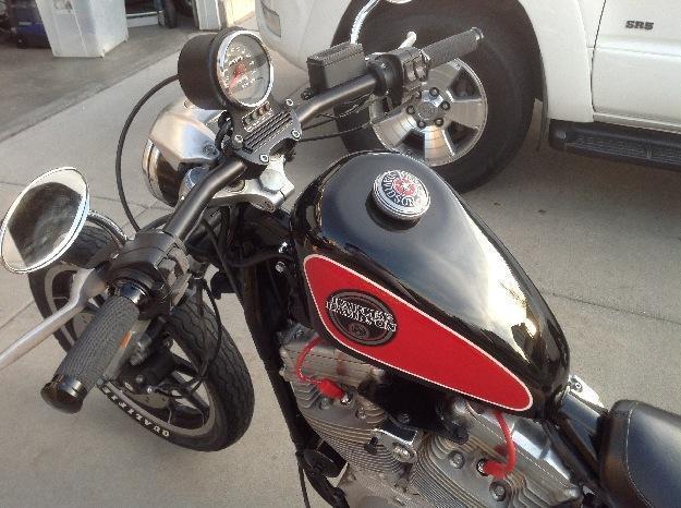Harley Davidson 883 Custom Drag Bobber