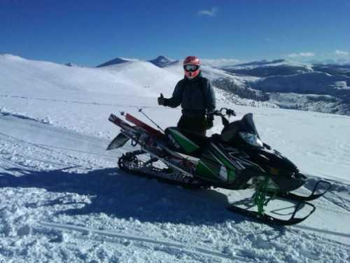 2011 Arctic Cat M8 Powder Sled Powersport in Edwards, CO