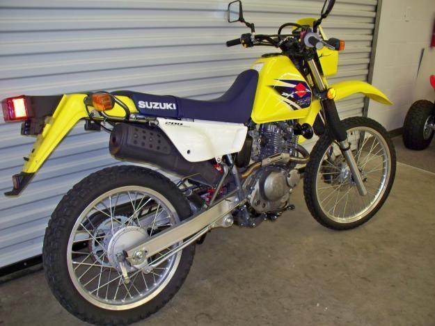 2007 Suzuki DR200SE