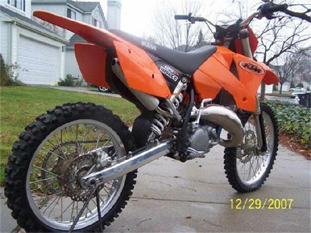2004 KTM Dirt Bike