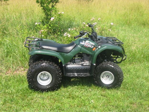 2008 Yamaha Grizzly ATV