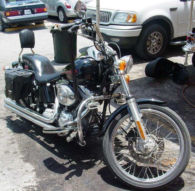2001 Harley Davidson Softail Standard Custom Cruiser Low Mileage Contact 954-567-1001