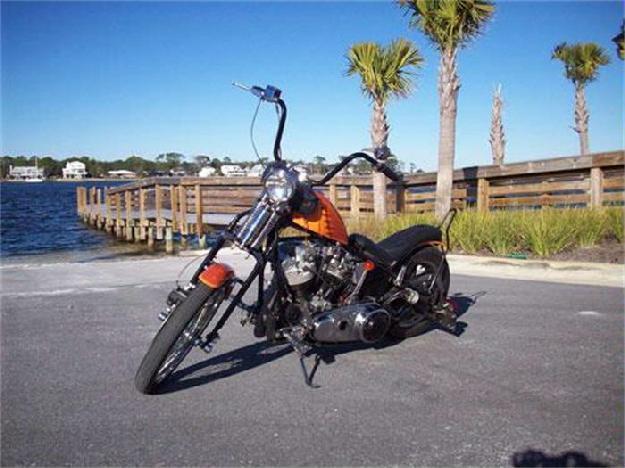 1969 Harley Davidson Motorcycle