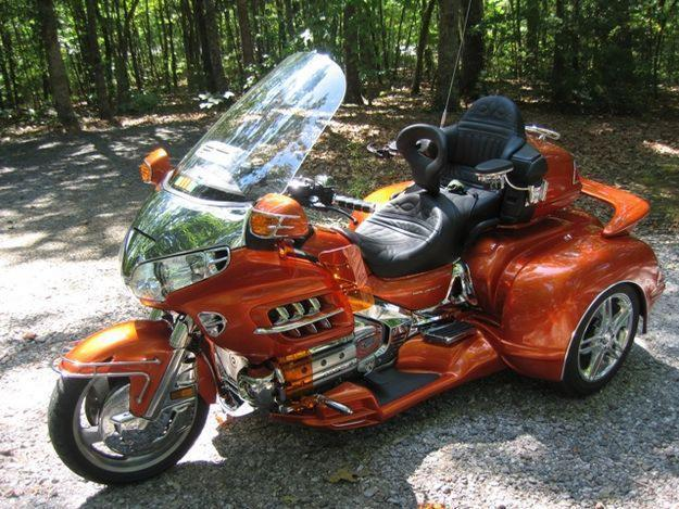 2002 Trike Honda GL1800 Goldwing (2008 Hannigan Kit)