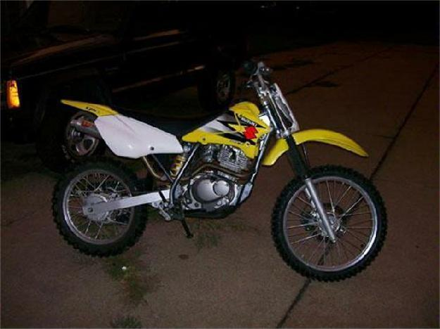 2004 Suzuki Dirt Bike