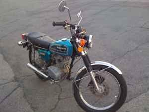 Honda cb125 - 900 total miles on the bike!