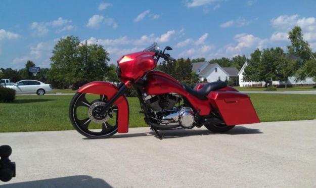 2010 Harley-Davidson Touring 26 Wheel Drop Seat Custom Bagger FLHX Street Glide