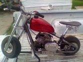 Custom mini bike KIKKER 5150