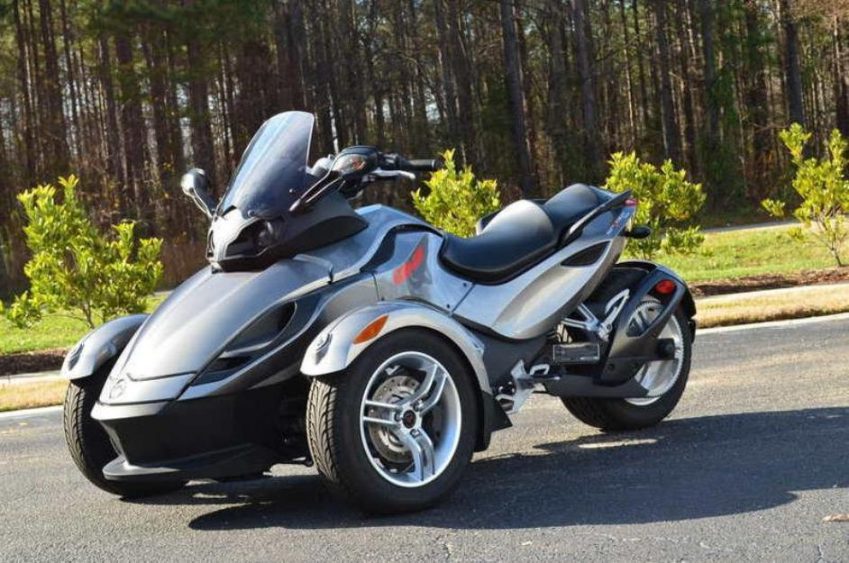 2011 can am spyder rs 1280 miles
