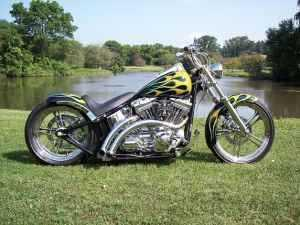 2003 Harley Davidson FXST Custom Chopper Softail in Germantown, WI