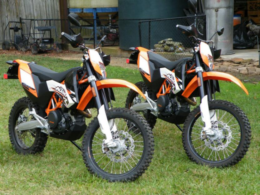 2010 ktm 690 enduro r motorcycles x 2