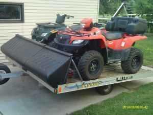 2007 Suzuki 700 EFI King Quad Powesport in Green Bay, WI