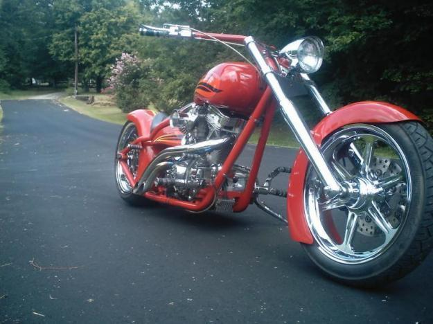 2002 Custom Built Motorcycles Chopper low reserve