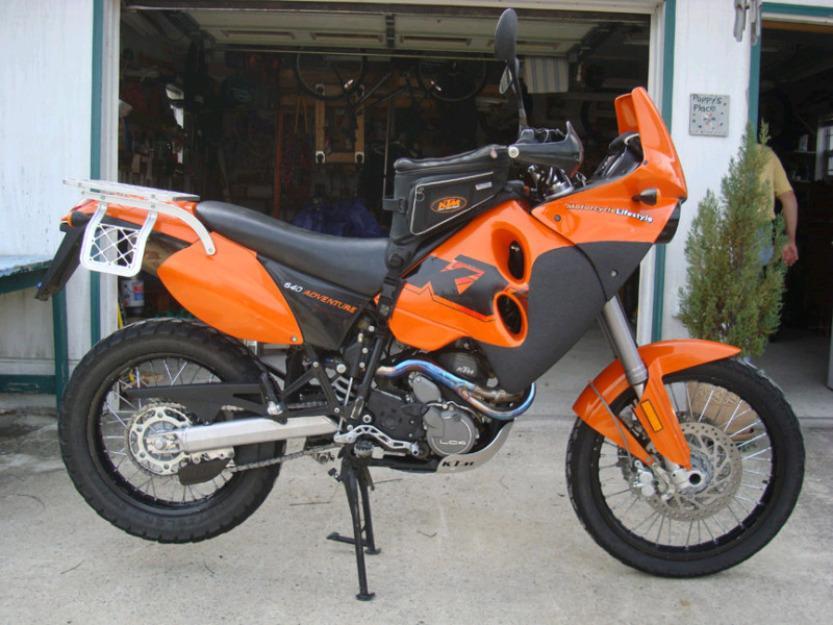 2006 KTM 640 Adventure Dual Sport