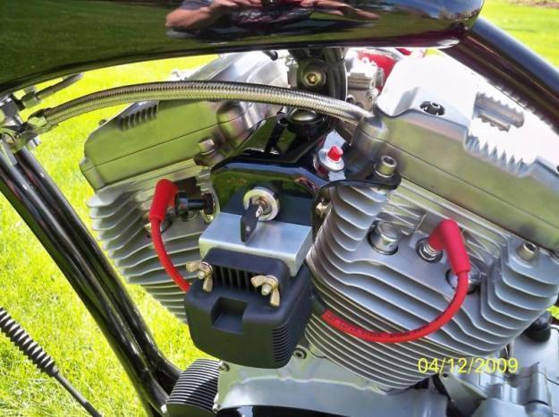2003 Harley-Davidson Custom Redneck Bobber Motorcyle