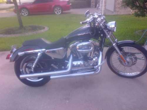 2004 Harley Davidson XL1200C Sportster in Houston, TX