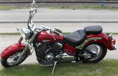 2007 Yamaha V star 650 Classic - Very Nice!