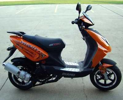 ► 2009 Diamo Velocity 150 Scooter - NEW!
