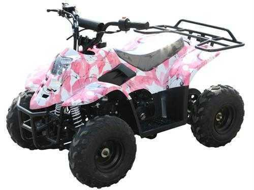 NEW Kids ATV  Coolster 110cc Quad  w/ safety features & warranty ---- all colors