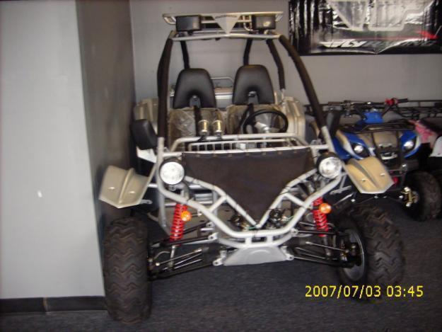 Dune Buggy Go-Kart 150cc BORMOTORSPORTS New w/warranty & MP3 Hook ups