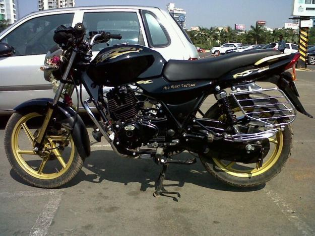bajaj discover modified for sale