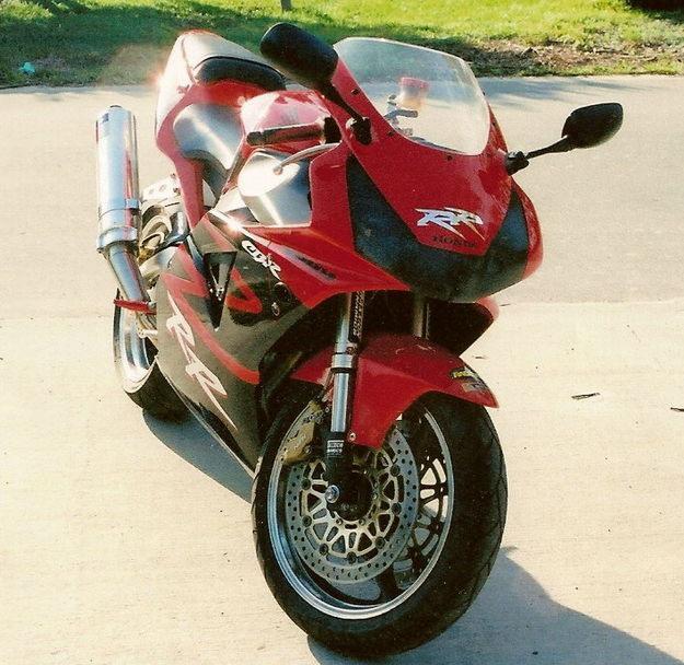 2002 Honda CBR 954 RR
