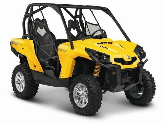 2014 Can-Am Commander DPS 1000