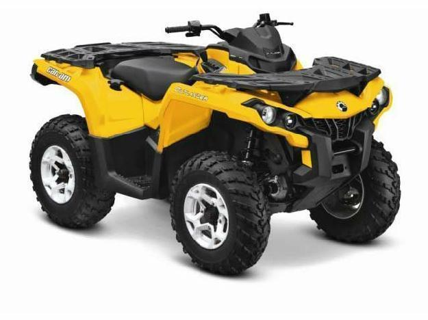 2014 Can-Am Outlander DPS 1000