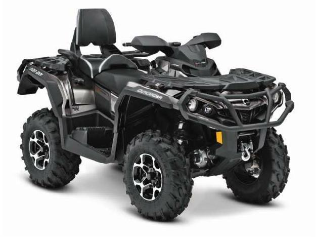 2014 Can-Am Outlander MAX Limited 1000