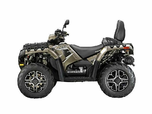 2014 Polaris Sportsman Touring 850 H.O. EPS - Bronze Mist LE